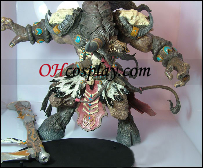 World of Warcraft DC Unlimited Series 3 Deluxe Boxed Action Figure Tauren Hunter Korg Highmountain