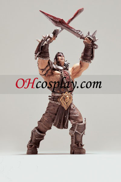 World of Warcraft DC Unlimited Series 5 Action Figure Lo'Gosh [Varian Wrynn]