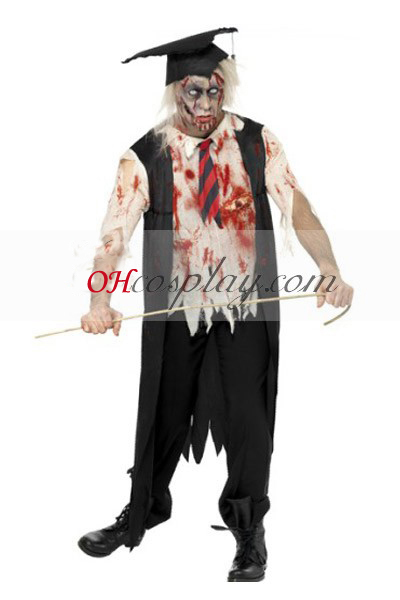 Akateemisen pukea Cosplay Halloween asu