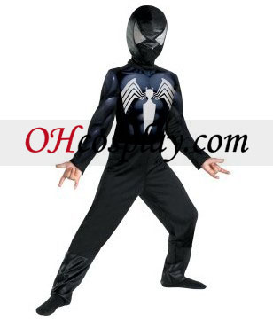 Den fantastiske Spider-Man Spider-Man Black-Suited barn kostyme