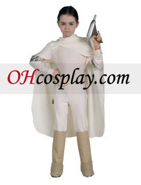 Star Wars Padme Amidala Deluxe Child Cosplay Halloween Costume Buy Online