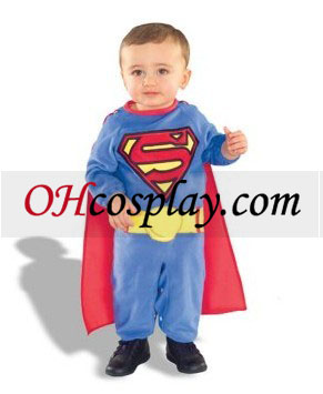 Superman infantil (6-12 meses) Disfraz