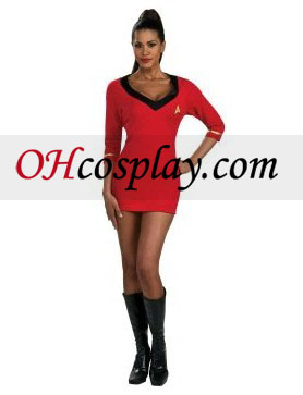 Star Trek Secret Wishes vestido rojo