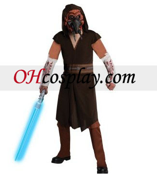 Star Wars Clone Wars Deluxe NLH Koon Voksen drakt