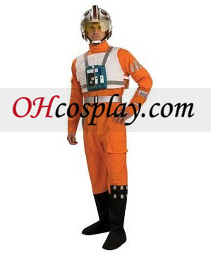 Star Wars Clone Wars X-Wing Fighter Pilot Adult Cosplay Halloween Costume Buy Online