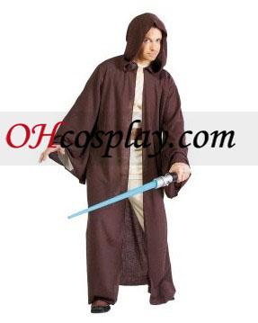 Star Wars Jedi robe kroj Deluxe dospelých