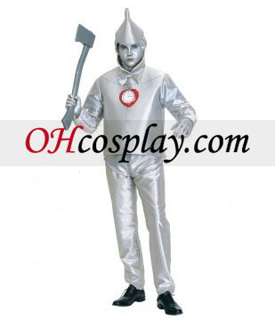 El mago de Oz Tinman traje adulto
