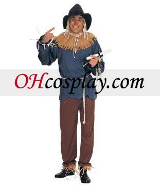 El mago de Oz espantapájaros traje adulto