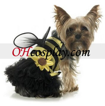 Daisy Bee Dog Costume Halloween Accessories Online Store