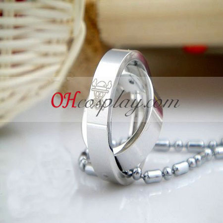 One piece Luffy ring necklace