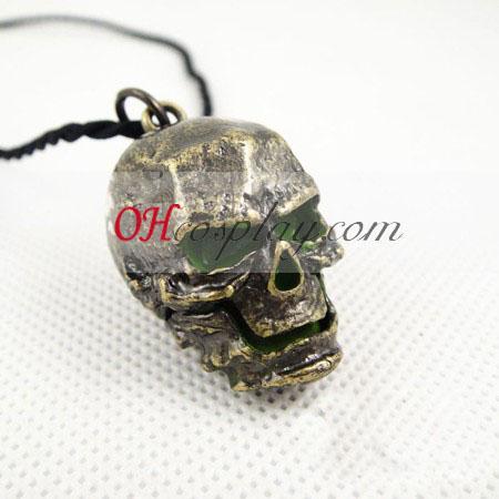 Negro collar de piedra