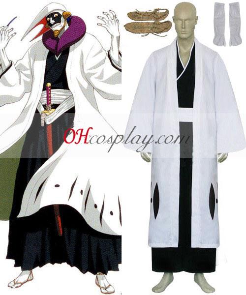Blekemidler 12 divisjon Kaptein Kurotsuchi Mayuri Cosplay kostyme