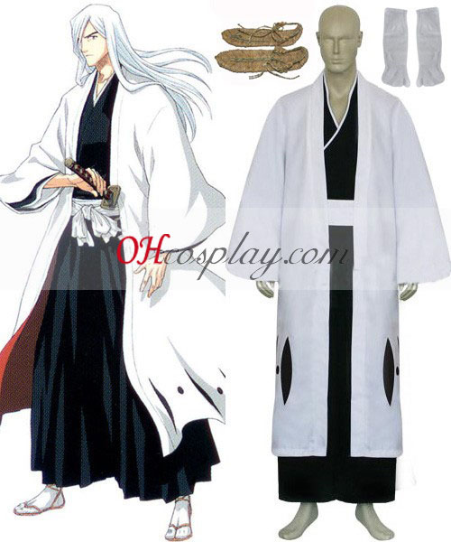 Bleach 13th Division Captain Ukitake Jyushirou Cosplay Costume