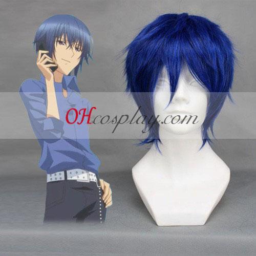 Shugo Chara! Tsukiyomi ikuto Dark Blue Cosplay Wig