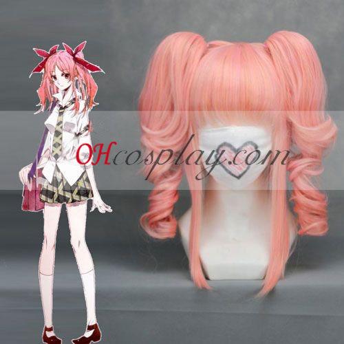 Shiki Shimizu Megumi Pink Cosplay Wig