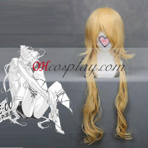 ZONE-00 Benten Yellow Cosplay Wig