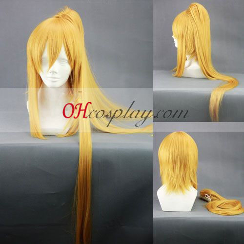 Brave10 Anastasia Yellow Cosplay Wig