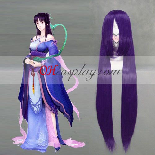 Chinese Paladin 4 Liu Mengli Purple Cosplay Wig