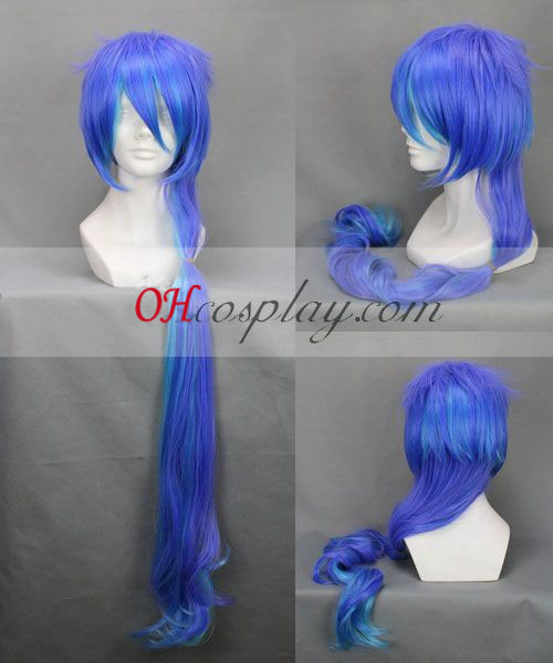 ANTI THE HOLiC Kasane Teddo Purple&Blue Cosplay Wig