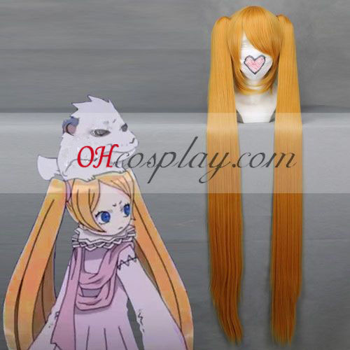 Letter Bee Niche Yellow Cosplay Wig