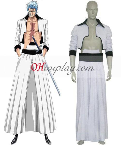 Bleach Sexta Espada Grimmjow Jeagerjaques Cosplay Costume