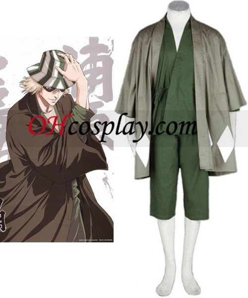 Bieach Urahara Kisuketh Halloween Cosplay Costume