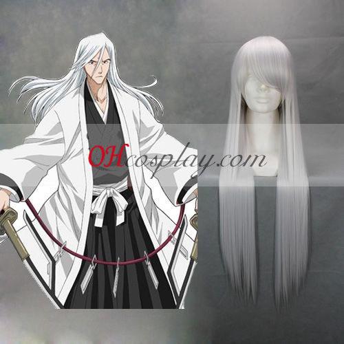 Bleach Ukitake Jushiro White Cosplay Wig