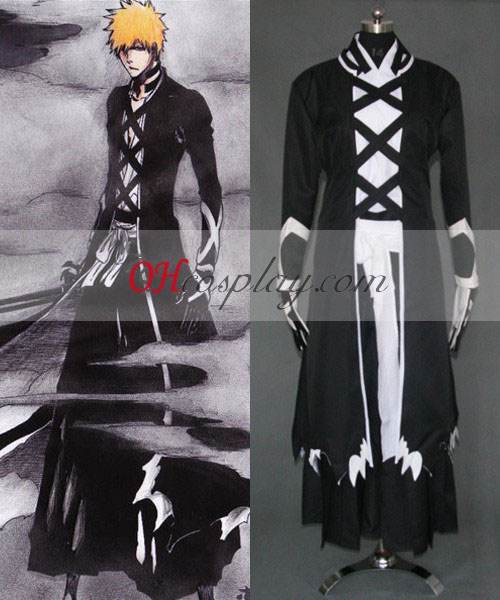 Bleach Ichigo Fullbring New Bnakai Cosplay Halloween Costume