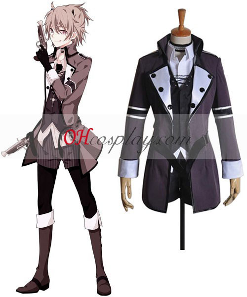 Vocaloid Deadline Circus Len Cosplay Halloween Costume