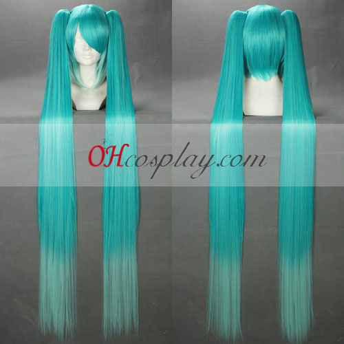 Vocaloid Miku Blue&White Cosplay Wig