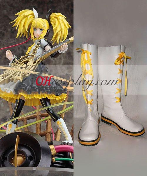Vocaloid 3 kagamine Rin Len Cosplay Boots