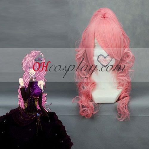 Vocaloid Luka Pink Cosplay Wave Wig