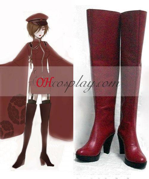 Vocaloid Mil Cherry Tree Meiko Botas cosplay