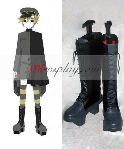 Vocaloid Thousand Cherry Tree Kagamine Len Cosplay Shoes