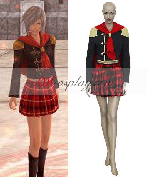 Final Fantasy XIII Agito Girl Uniform Cosplay Costume
