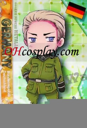 Germany Cosplay Costume from Axis Powers Hetalia Halloween Costume Online Shop
