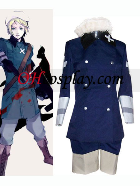 Royal Blue cosplay del Poder Eje Hetalia