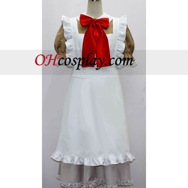 Chibitalia Maid Costume from Axis Powers Hetalia Lolita Dresses