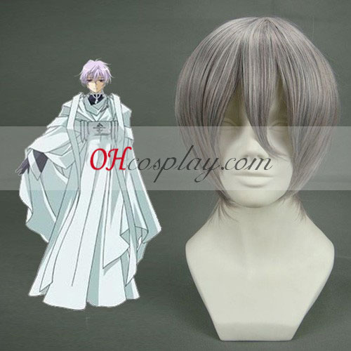 Axis Powers Hetalia Ivan Braginski Silver Grey Cosplay Wig