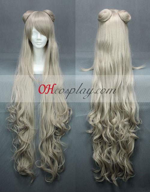 Code Geass GAIDEN Layla·Markale Light Yellow Cosplay Wig