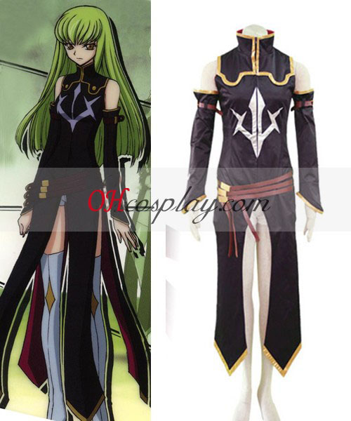 Code Geass C.C Black Suit Cosplay Costume Online Shop