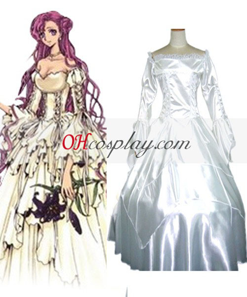 Code Geass Euphemia Dress Cosplay Costume