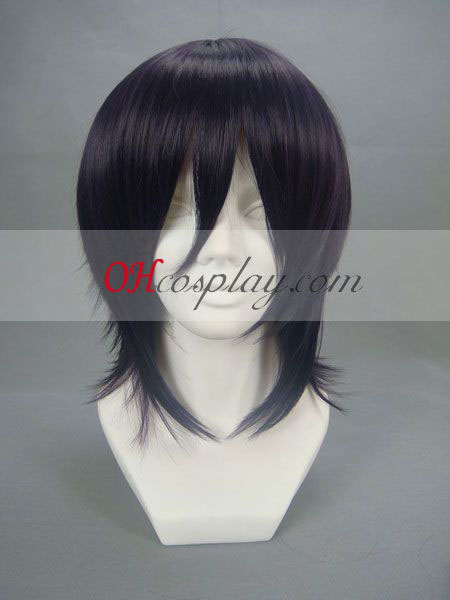 Code Geass Lelouch Lamperouge Dark Purple Cosplay Wig