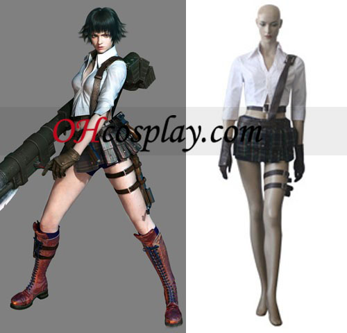 Devil May Cry 3 Lady Cosplay Costume