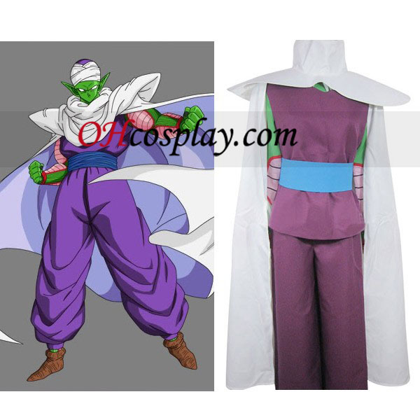 Dragon Ball Flute Familiar IMP Uniform Cloth Combined Leather Costume