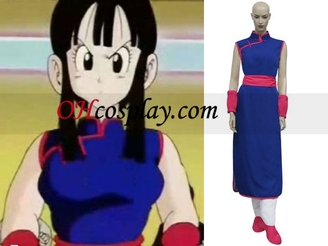 Dragon Ball Z Chi Chi Cosplay Costume