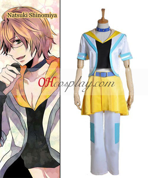 Uta no Prince-sama Natsuki Shinomiya Singing Cosplay Costume