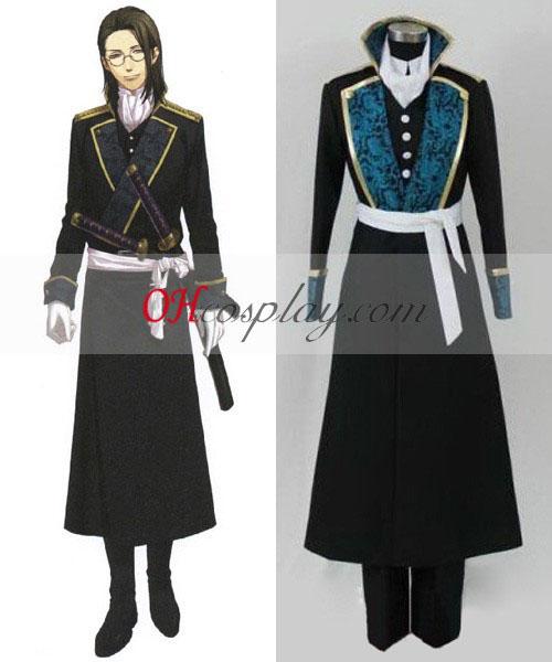 Hakuouki Shinsengumi Kitan Keisuke Yamanami Cosplay Costume
