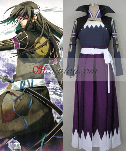 Hakuouki Hijikata Toshiz Fight Cosplay Costume