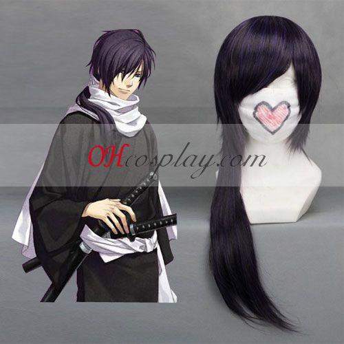 Hakuouki Sait Hajime Purple Cosplay Wig